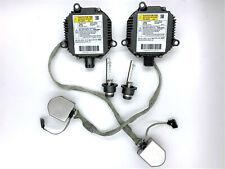 2x OEM 05-12 Acura RL Xenon HID Headlight Ballast Igniter & D2S Bulb