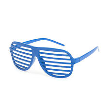 Unisex Shutter Shades / Glasses - Blue
