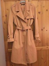 Ladies Camel Trench Coat/Mac Size 12