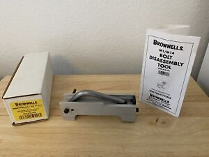 Used Brownells Garand Bolt Disassembly Tool Model 080-818-000