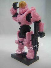 HALO Mega BloksDELTA Series 13 PINK ORBITAL SPARTAN Hermes Rare MiniFigure DMR