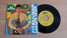 "JOVANOTTI - LOS NUMEROS - PROMO 45 GIRI 7"" - SPAIN PRESS"