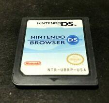 Nintendo DS Browser (Nintendo DS, 2007) Tested # 40606