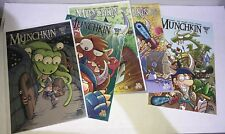 Munchkin Comic Set 1-5 W/ Cards VF/NM Free Shipping
