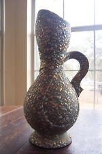 Vintage Savoy China Art Pottery Splatter Paint Vase/Pitcher
