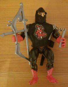 MOTU Ninjor w/ Weapons and Outfit He-Man 1987 Mattel Near Complete Works!