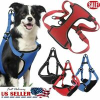 2019 Pet Dog Harness No Pull Nylon Dog Harness For Big Dogs Walking Vest S M L