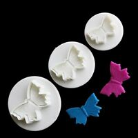 Fondant Cake Cookie Sugarcraft Icing Cutter Plunger Decorating Paste Mould Tools