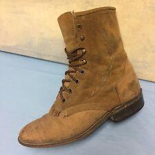 Laredo 19152 ladies roper Brown boots Size 8 M