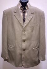 Gianni Versace Couture Mens Suit Jacket Blazer Vtg 90s Madusa Head Size 42