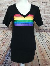 SKYY Vodka Rainbow Graphic T-Shirt Size Small
