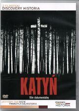 Katyn   (DVD) film dokumentalny POLSKI POLISH