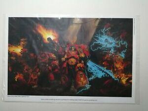 Games Workshop Space Hulk Poster Limited Edition Art Print Warhammer 40k New OOP