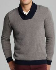 LACOSTE MENS JACQUARD SHAWL COLLAR SWEATER JUMPER *SIZE 2/XS* NEW *RRP £195*