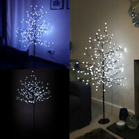 5FT LARGE LIGHTUP CHRISTMAS TREE LED CHERRY BLOSSOM INDOOR OUTDOOR DECORATION