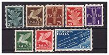 REGNO 1930/32 Posta Aerea Soggetti Allegorici  SERIE NUOVA **