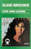 Elkie Brooks...Live And Learn..Import Cassette Tape