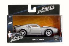 Modellini statici di auto, furgoni e camion grigi Fast & Furious pressofuso