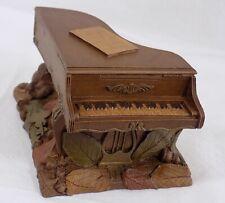 "*3 1/2 "" 00004000 ; Tom Clark Gnome Figure ""Piano"" / Edition # 55 / 1988 / Signed"