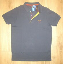 Neu Herren Poloshirt Piqué Paul & Shark Slim Fit Gr.L