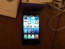 APPLE iPHONE 4 BLACK 8GB UNLOCKED or AT&T SMARTPHONE with ACCESSORIES & EXTRAS