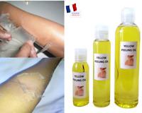 YELLOW PEELING OIL- HUILE DE PEELING JAUNE- 50 ml, 100 ml et 250 ml.