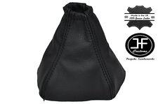 Negro Cuero Cosido Manual Gear gaiter encaja Kia Sorento 2002-2006