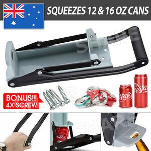 Can Crusher 12&16oz Beer Soda Smasher Aluminium Recycling Bottle CRUSH camping