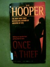 2 KAY HOOPER PAPERBACKS ~  ONCE A THIEF AND BLOOD SINS
