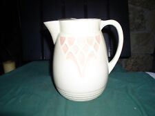 VINT RRP Co 1504/6 ROSEVILLE Oh PITCHER w STYLIZED FLOWER Pittsburg Pa VryGd