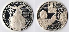 Medaglia Argento 925 Joannes Paulus PP. II Polska 1979 Fondo Specchio
