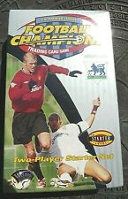 FA PREMIER LEAGUE FOOTBALL CHAMPIONS 2001 02 TRADING CARD GAME STARTER SET bonus
