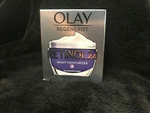Olay Regenerist Retinol 24 Night Moisturizer (Fragrance-Free) 1.7 oz, New In Box