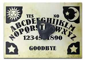 A4 Wooden Sun, Moon & Stars Ouija Board & Planchette, Classic Ouijas Style Board