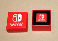 Nintendo Switch Rare Promo Pin with Box