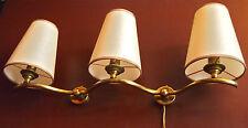 paire applique 1950 lampe luminaire midcentury lamp royere 1950's