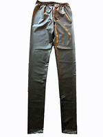 BRAND MENS GLAM ROCK PUNK WETLOOK ANIMAL PANTS MEGGINGS LEGGINGS S M L XL 4XL
