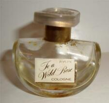 Vintage avon to a wild rose cologne bottle 1950s perfume bottle with stopper