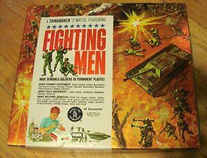MATTEL FIGHTING MEN NR. NEAR MINT THINGMAKER CREEPY CRAWLERS PLASTIGOOP LOOK!!