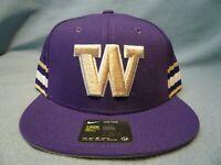 Nike Washington Huskies True Seasonal BRAND NEW Snapback hat cap Dub UW Football