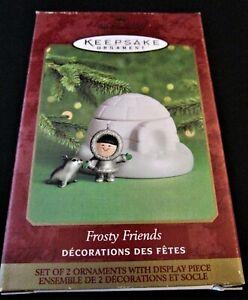 2000 Hallmark Keepsake Ornament - FROSTY FRIENDS - MINT!
