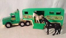 Remco Semi Tractor Horse Trailer With Horses Derby Farms  1989
