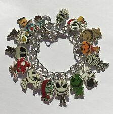 The Nightmare Before Christmas Bracelet Jack Sally Zero and More Charms