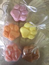 Paw Soaps Set Of 10, great gifts for xmas or birthday, Cat And Dog Lovers