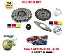 Per BMW Serie 3 316D 318D 6 Velocità Manuale 2014> Kit Frizione Nuovo 4 Pezzi