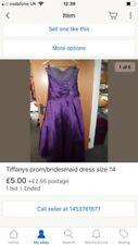 Tiffanys prom/bridesmaid dress size 14