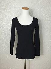 Esprit Women's Long Sleeve T-Shirt, Black, Size S