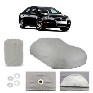 Volkswagen Jetta 5 Layer Car Cover Fitted Outdoor Water Proof Rain Snow Sun Dust