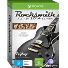 XB1 Rocksmith 2014 with Real Tone Cable Guitar/Bass (Xbox One) BRAND NEW