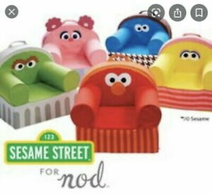 Crate & Barrel Kids Land of Nod Sesame Street Chair Cover Choose your character!